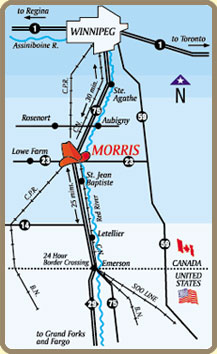 Location Morris Stampede Inn The Heart Of Southern